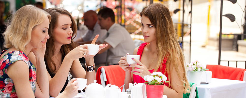 Как женщине постоять за себя в разговоре?
