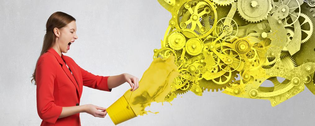 Структура (мужская энергия) VS творчество (женская энергия)